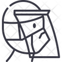 Face Shield Protection Icon