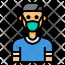 Healthcare Mask Avatar Icon