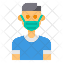 Healthcare Mask Avatar Icon