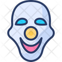 Face Mask Carnival Fun Icon