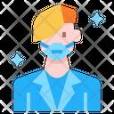 Avatar Medical Mask Healthcare Icon