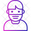 Avatar Covid Face Icon
