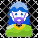 Mask Mask Girl Vector Icon