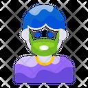 Mask Mask Man Vector Icon
