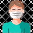 Avatar Health Care Mask Icon