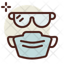 Goggles Mask Icon
