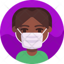 Mask Infection Corona Icon