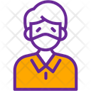 Face Disease Mask Icon