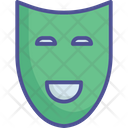 Face Mask Birthday Mask Comedy Mask Icon