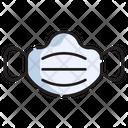 Face Mask Virus Medical Icon