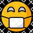 Face Mask Emoticon Face Mask Emoji Icon