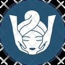 Face Massage Facial Massage Facial Rejuvenation Icon