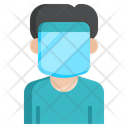 Face Protection Medical Virus Icon