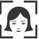 Face Recognition Scan Icon