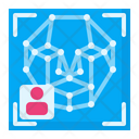 Face Recognition Face Detection Scan Icon