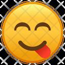Face Savoring Food Emoji Emoticon Icon