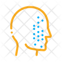 Face Part Scan Icon