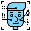 Face Profile Interface Icon