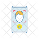 Face Scan Protection Mobile Application Icon