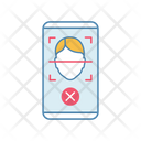 Face Scan Rejection Icon