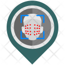 Scanning Face Pointer Icon