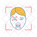 Face Scanning Procedure Icon