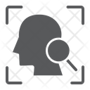 Face Search Icon