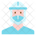 Protection Face Shield Icon