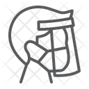 Face Shield Mask Icon