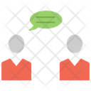 Face To Face Converasation Icon