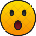Face With Open Mouth Icon
