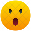Face With Open Mouth Emoji Emotion Icon