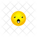 Face With Open Mouth Smiley Icon