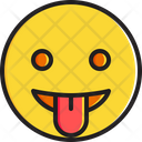Face with stuck-out tongue Icon