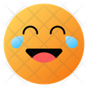 Face With Tears Of Joy Emoji Face Icon