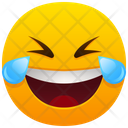 Face With Tears Of Joy Emoji Emotion Icon