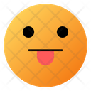 Face With Tongue Emoji Face Icon