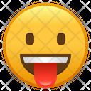 Face With Tongue Emoji Emoticon Icon