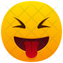 Face With Tongue Emoji Emotion Icon