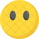 Face Without Mouth Emoji Icon