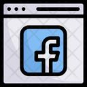 Network Communication Website Icon