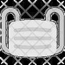 Quarantine Stayhome Facemask Virus Icon