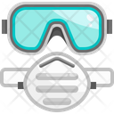 Facemask Goggles Equipment Icon
