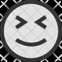 Faces Emotions Happy Icon