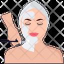 Face Treatment Facial Face Massage Icon