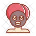 Facial Mask Face Treatment Icon