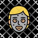 Facial Cream Mask Icon