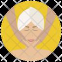 Face Massage Facial Icon