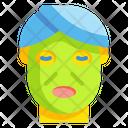 Facial Mask Face Cosmetic Icon