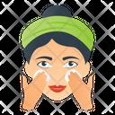 Facial Massage Icon